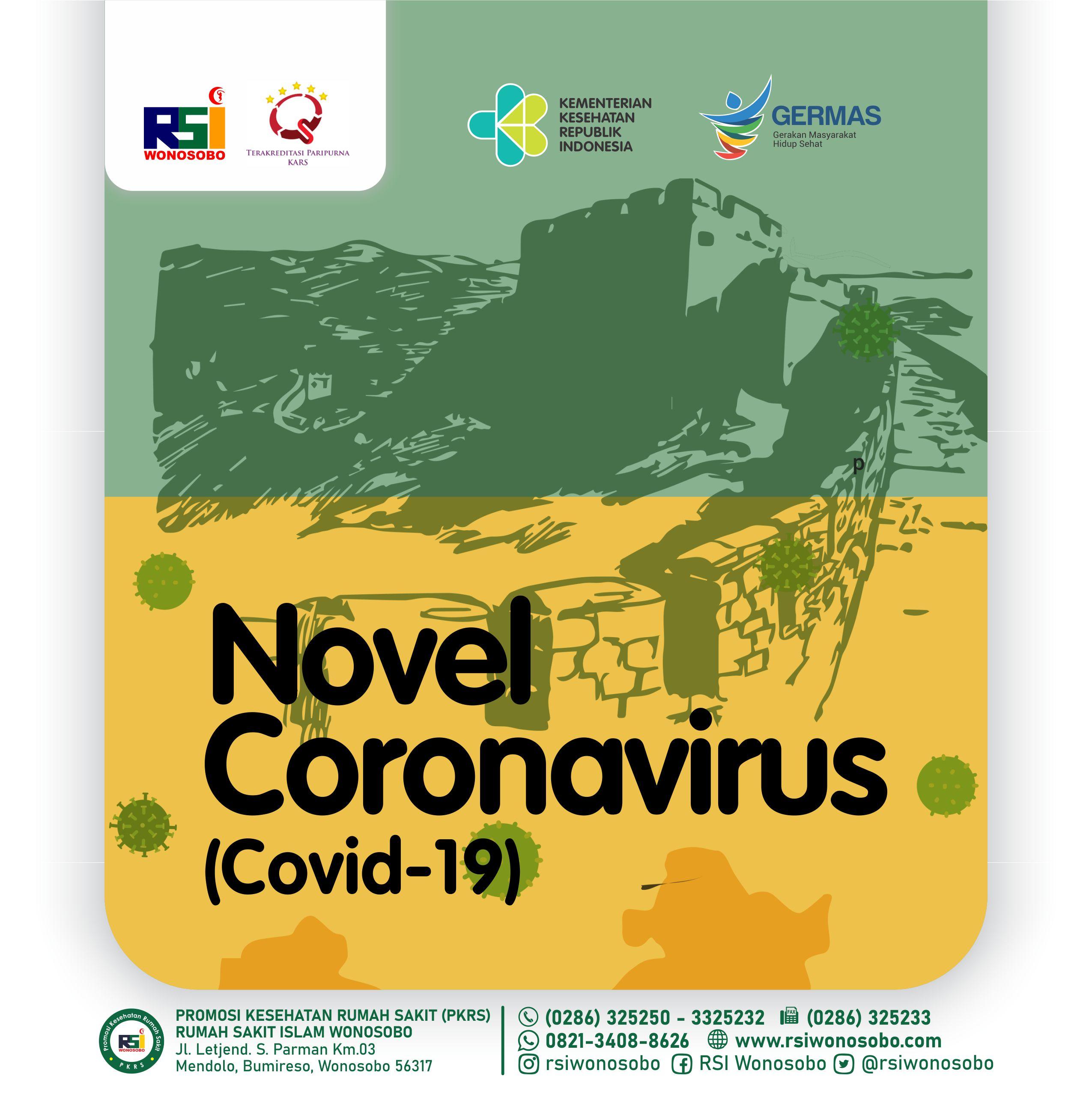 Novel Coronavirus Covid 19 Rumah Sakit Islam Wonosobo